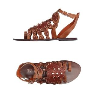 Ivy Kirzhner Scrabby The Crab Sandals NIB